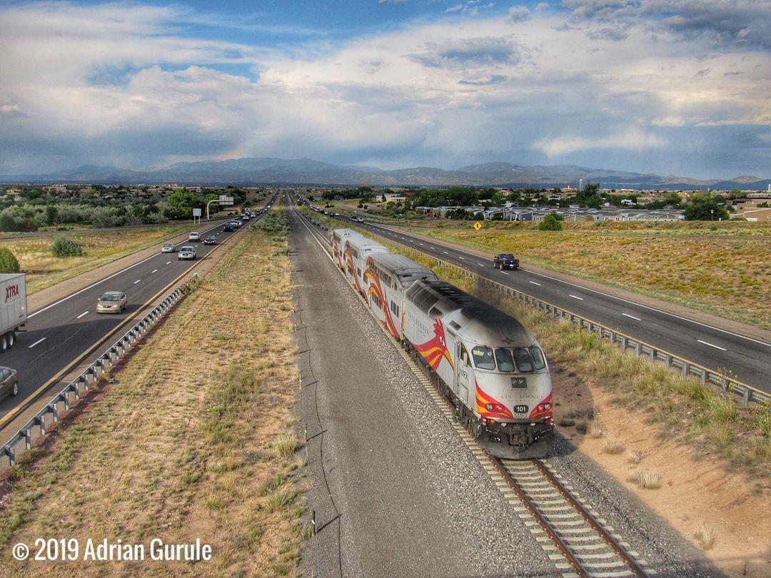 New Mexico train ride