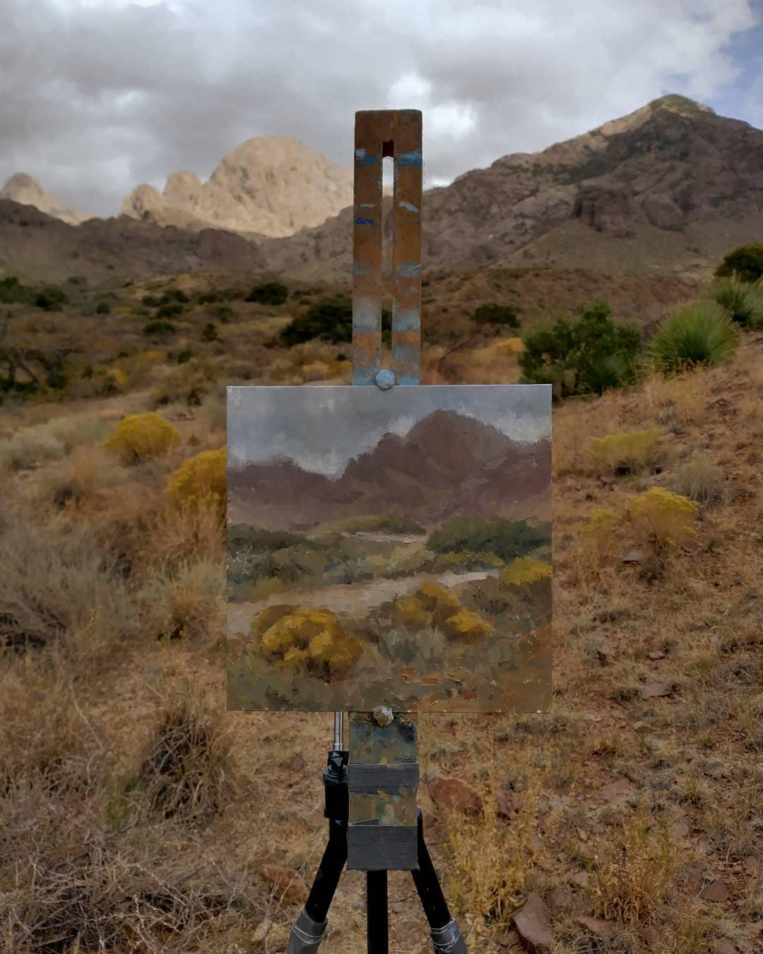 Soledad Canyon painting