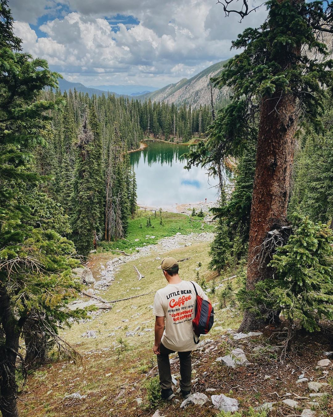 Trampas Lakes Trail beautiful hikes in new mexico