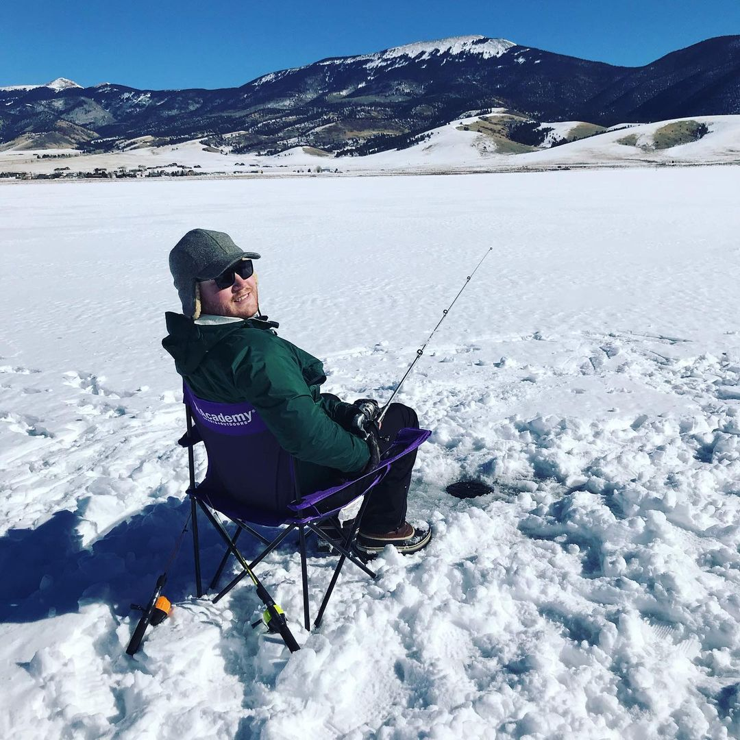 ice fishing in Eagle Nest Lake State Park winter destinations in new mexico