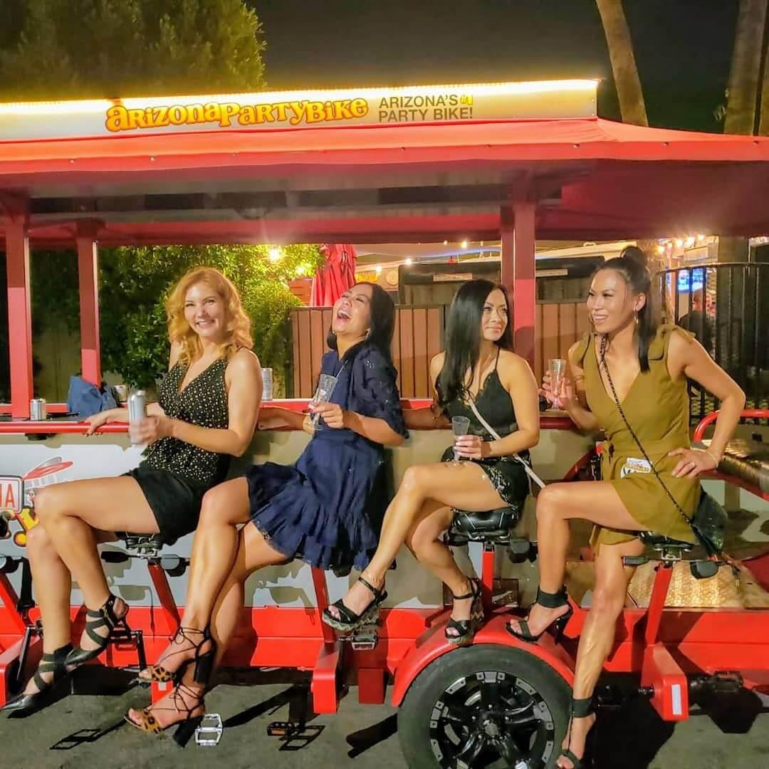 Arizona Party Bike ride