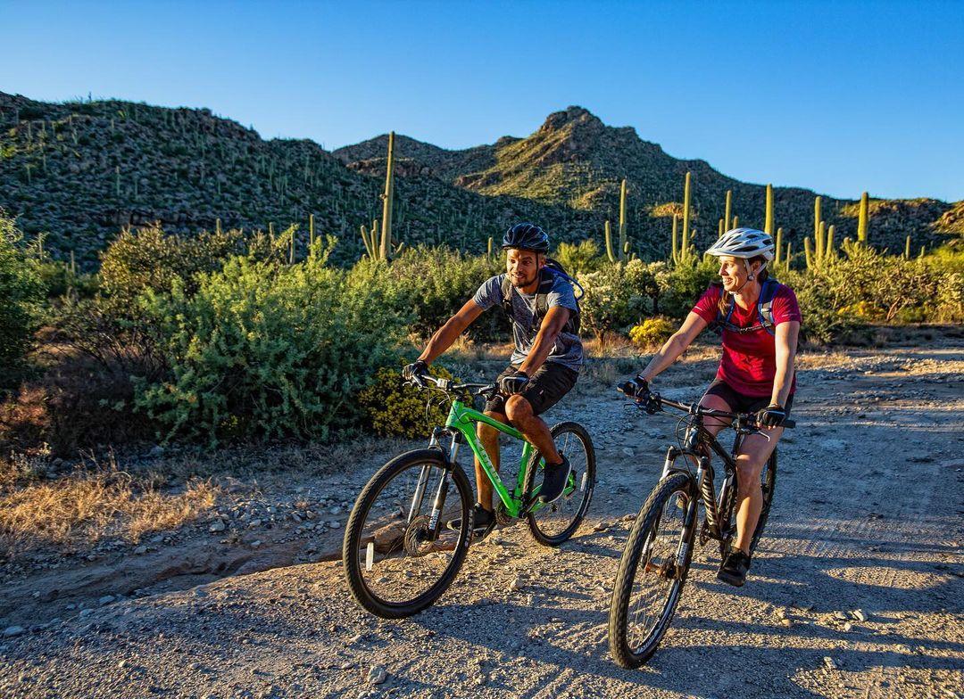 Arizona desert bike