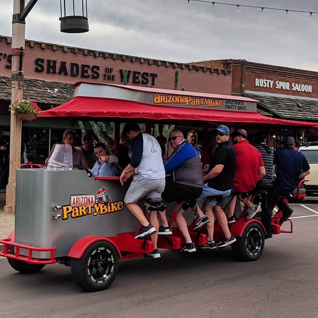 Party Bike Outdoors