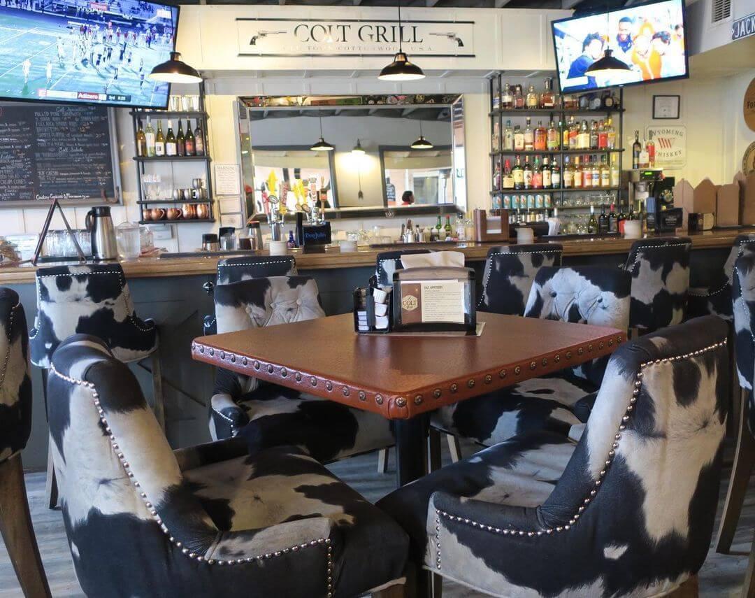 Colt Grill Arizona interior