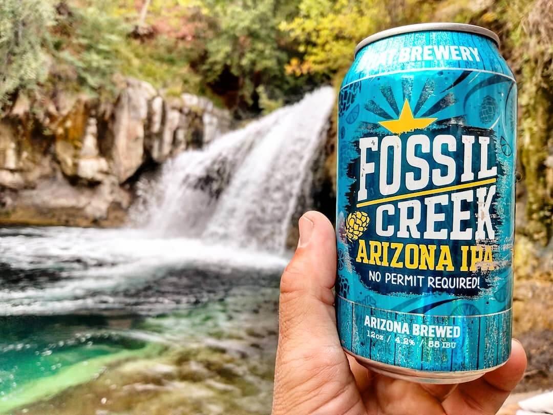 Fossil Creek IPA beer