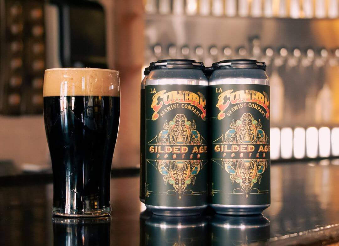 Gilded Age Porter beer New Mexico Craft Breweries