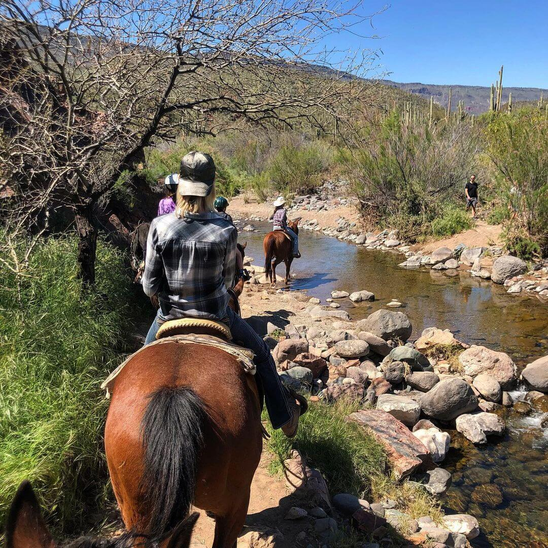Horseback Riding in Spur Cross
