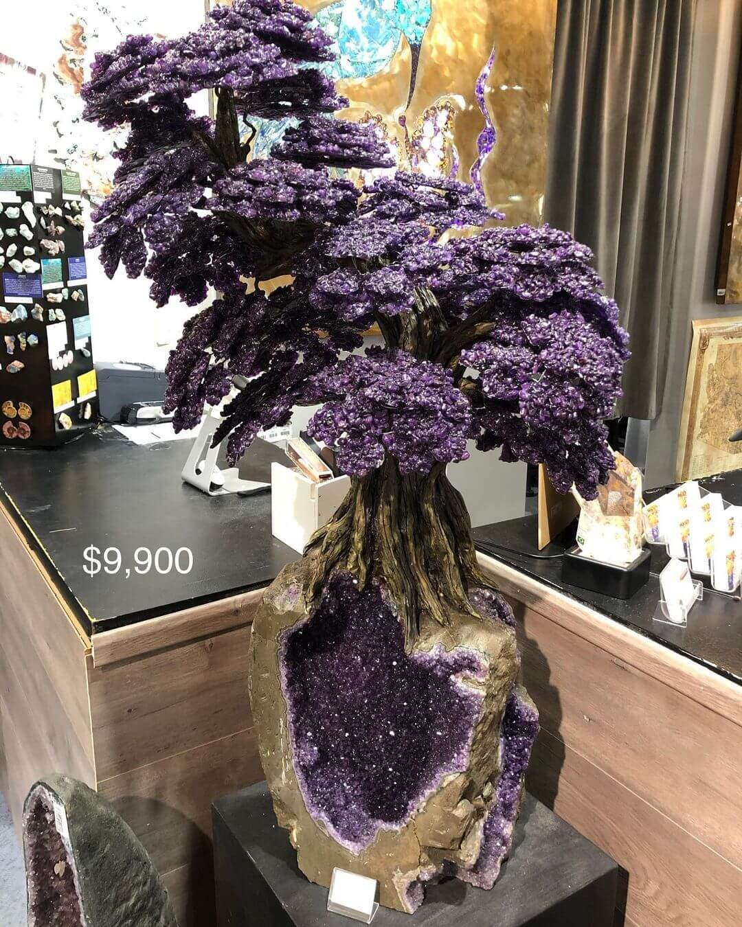 Rare Earth Gallery Gemstone Tree