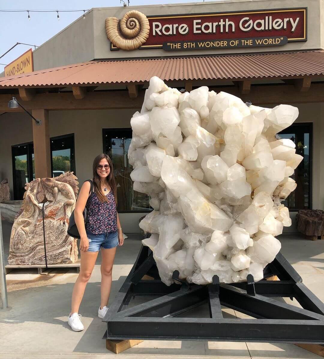 Rare Earth Gallery shop crystal