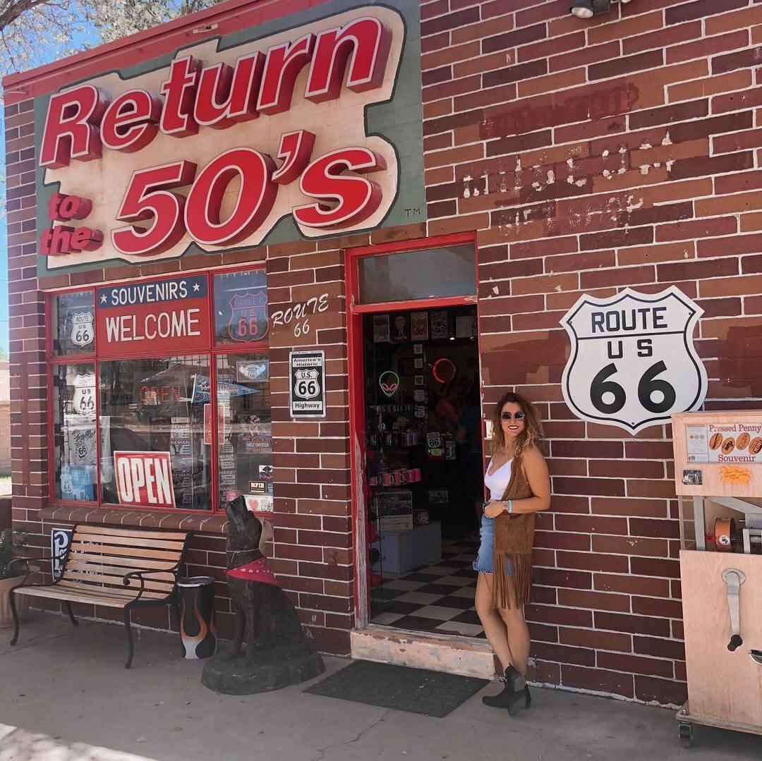 Storefront Return to the 50s az