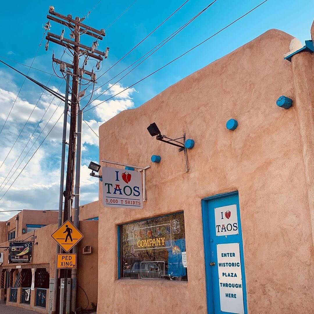 Taos Plaza Tour