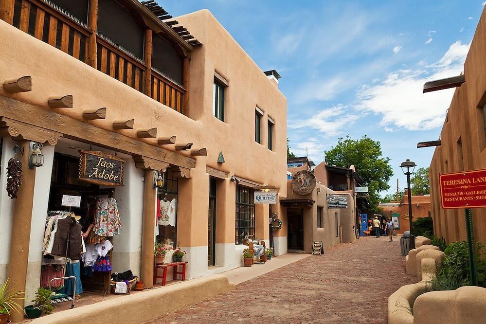 Taos Plaza Tour nm
