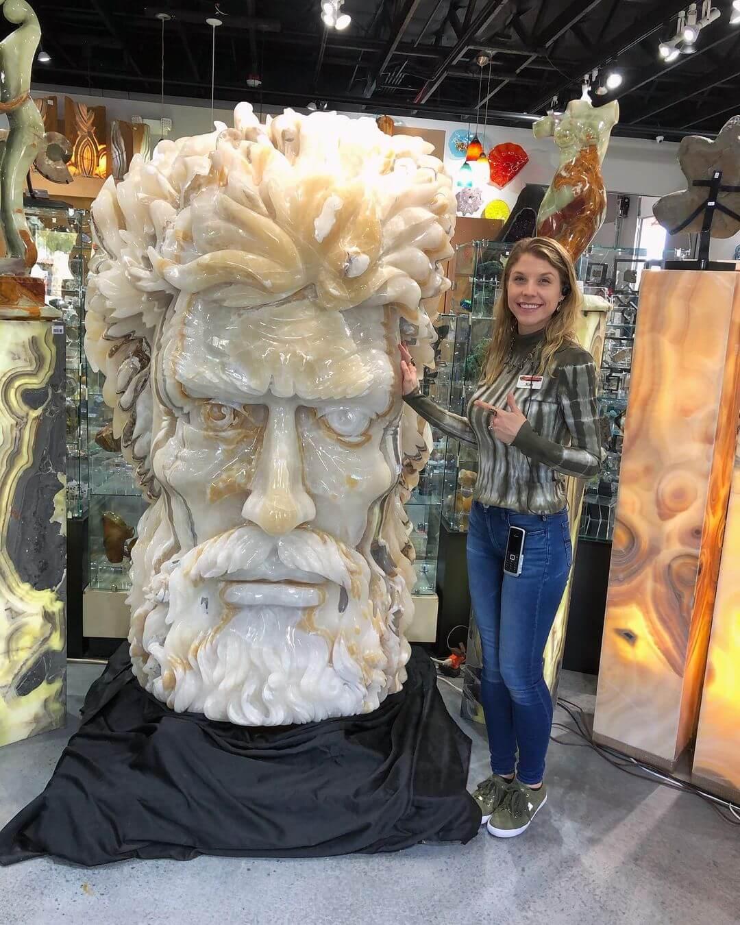 Zeus Mineral Figure