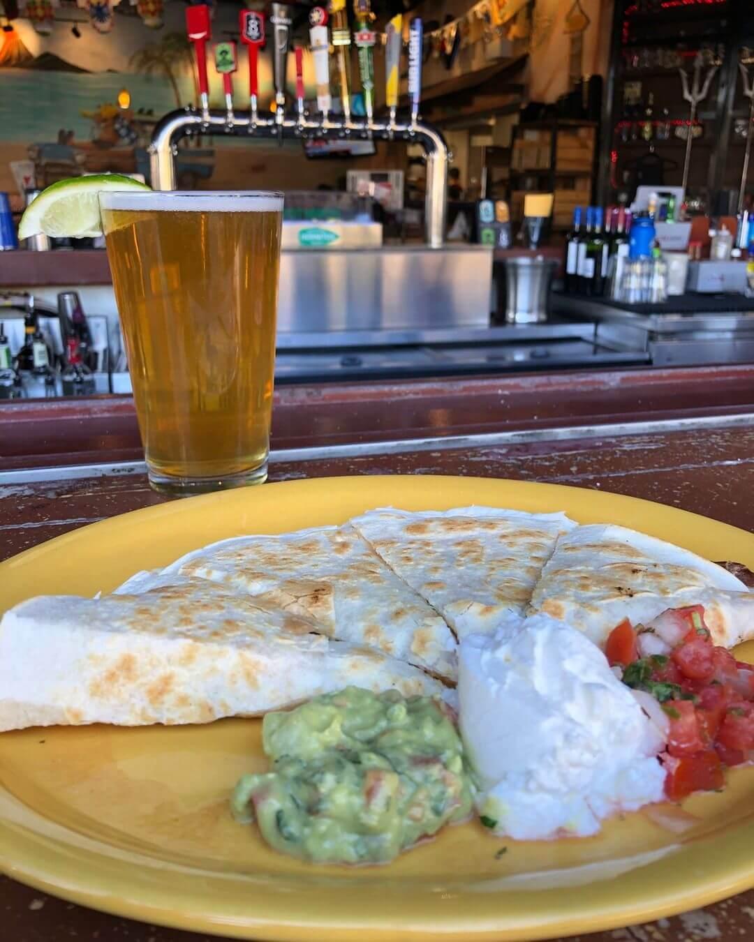 green chile quesadilla